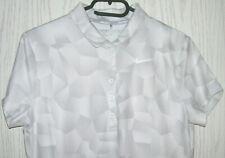 b36936a74effb0 NIKE Golf Damen Poloshirt Gr. M Dri-Fit Stay Cool weißgrau viel Stretch
