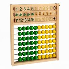 Little Abacus • Mathematical Educational Aid • Ecological Wooden PILCH Toy