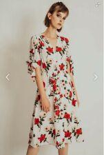 Voodoo Vixen Lorelei Floral Calf Length Dress Size 8