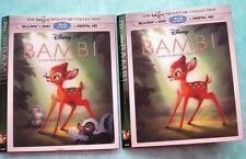 Disney BAMBI, FROZEN, JUNGLE BOOK, MOANA, GOOD DINO Lenticular Blu ray slipcover