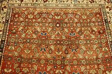 c1920's ANTIQUE BIJAR RUG 3.9x5.4 CLASSIC VILLAGE WOVEN_HIGHLY DETAILED
