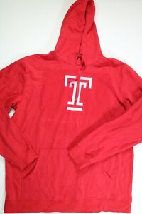 Mens Red Texas Tech Long Sleeve Hoodie 2XLT NEW!