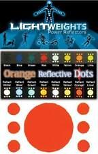Lightweights 3M Scotchlite Reflective Dots. 7x Orange.