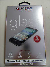 Genuine ZAGG Invisible Shield Tempered Glass Screen Protector for HTC One M9