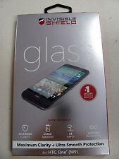 véritable ZAGG PROTECTION INVISIBLE écran en verre trempé pour HTC One M9