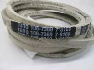 """GENUINE OEM TORO PART # 106-7369 Z MASTER & GRANDSTAND 48"""",52"""",60"""" DECK V-BELT"""