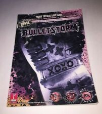 Bulletstorm prima Guía De Estrategia Oficial Xbox 360 Playstation 3 PC