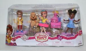 Disney Junior Fancy Nancy Figurine 5 Pack Nancy, Bree, Grace, Marabelle, Frenchy