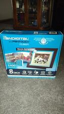 Pandigital PanTouch 8-Inch LCD Digital Photo Frame 1GB 6400 images NEW in BOX