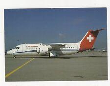 Crossair BAe 146-200 Aviation Postcard, B008