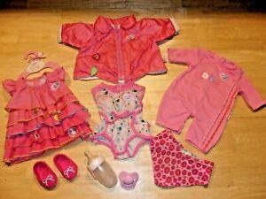 Schöne Bekleidung für die Baby Born und andere Puppen Gr.43cm