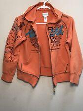 New Girls DIESEL Hoodie, Orange, Size 8
