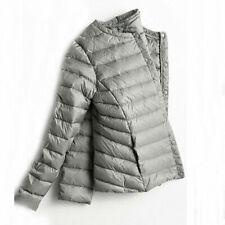 HOT Winter Women Ultra Light Down Jacket White Duck Down Short Coat Parkas S-3XL