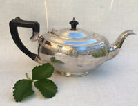 Vintage Cardinal Silver Plate Made In England Deco Teapot