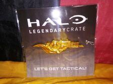 Brute Shot Pin: Halo Legendary Loot Crate - Rare Gold Edition Microsoft 2018