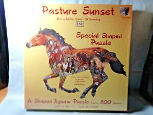 Sealed 800 piece puzzle Pasture Sunset by Suns Out