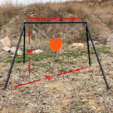 """New listing Highwild Ar500 Steel Shooting Target Stand System(Stand, Mounting Kit & 8"""" Gong)"""