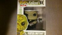Funko Pop Games~ Fallout Super Mutant~ Vinyl Figure #52~ 2015~NIB