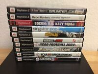 PlayStation 2 ~ 10 Game Lot