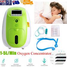 1-5L/Min Remote Control Portable Oxygen Concentrator Generator Health Care 220V