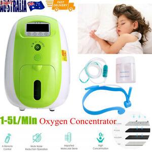 1-5L/Min Remote Control Portable -OXYGEN-Concentrator Generator Health Care 220V