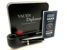 VAUEN Diplomat 1 Pfeife - 9mm Filter pipe pipa Weißpunkt Qualität