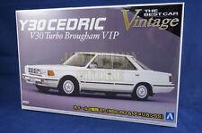 Aoshima 041024 1/24 Best Car Vintage 61 Nissan Y30 Cedric V30 Turbo Brougham VIP