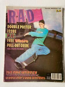 RAD SKATEBOARD MAGAZINE ISSUE 105 FEBRUARY 1992
