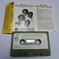 GLADYS KNIGHT & THE PIPS THE BEST OF CASSETTE TAPE 1976 PAPER LABEL BUDDAH UK