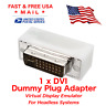 Virtual DVI Dummy Plug Adapter Display Emulator Headless Adapter 2560x1600 60Hz