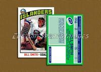 Bill Smith - New York Islanders - Custom Hockey Card  - 1975-76