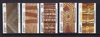 Australian Decimal Stamps 1987 Aboriginal Crafts Booklet Stamps (5) BRILLIANT!