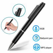 Cooligg Mini Digital Voice Recorder Dictaphones 8GB Record Pen MP3 USB Drive