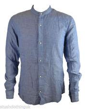 Camisas y polos de hombre de manga larga de color principal azul talla M