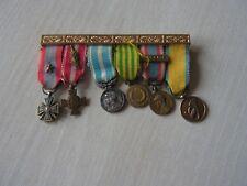 portee medailles en reduction      algerie indochine