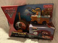 Fisher Price Disney - Pixar CARS 2 Geo Trax RC Spy Mater NEW