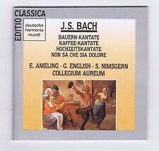 JS BACH BOX SET 2 CDS SECULAR CANTATAS BWV211.212.202.209/ ELLY AMELING