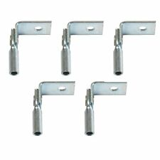 Platinum Tools JH920-100 Right Angle Clip with 1/4-Inch Hole, 100 Piece