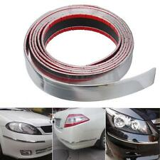 DIY Exterior Car Chrome Adhesive Strip Trim Molding Styling Decoration 2.5M 30mm