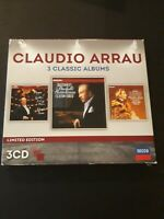Claudio Arrau: 3 Classic Albums CD NEW