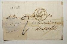 Marque Postale de 1832 - Bordeaux 33 pour Montpellier 34 ( 107 )