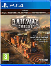 PS4 Railway Empire NEU&OVP Playstation 4 Paketversand