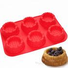 Shortcake Basket Bundt Cake Pie Pan Muffin Jello Ice Cream Baking Silicone Mold