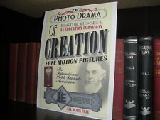 PHOTO-DRAMA OF CREATION POSTER Watchtower Jehovah IBSA cirra 1914 on cardstock