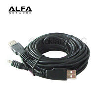 ALFA 8m/24 feet OEM Dual-Y Connector USB Extension Cable for AWUS036H AWUS036NH