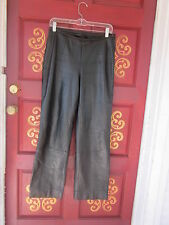 Valerie Stevens New Zealand Lambskin Pant size 4 Beautiful leather/lined 1/2 OFF