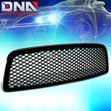 09-12 DODGE RAM 1500 DS/DJ SPORTS MESH FRONT HOOD BUMPER ABS GRILL/GRILLE GUARD