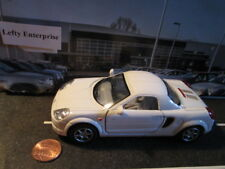 White 2000 TOYOTA MR2 Car (Doors opens) Scale 1/32