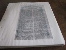 Frankfurt Archiv 8 Kunstgewerbe 5013 Epitaphienbuch Fam Holzhausen 17. Jahrhunde