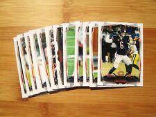 (3) Diff Chicago Bears 2014 Topps TEAM SET w/ Chrome + Refractor (31) Cards
